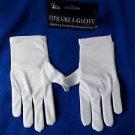 Child White Gloves Stretch Polyester Comfort Dressy Children's