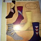 Knitting Directions Knit Socks for men women and children. Vintage Fleisher's