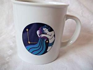 Birthday Mug Aquarius  Noritake  Mug Birthday Star Jan 20 - Feb 18 Gift