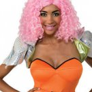 Pink Curley Wig One Size  Nicki Minaj Pink Curly Wig Great HIP HOP DIVA Look!