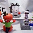 Solar Dancers Swingers Cat Ghost Skeletons Pumpkin Witch