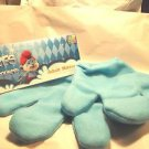 Smurf Blue Mittens Animal Gnome Adult