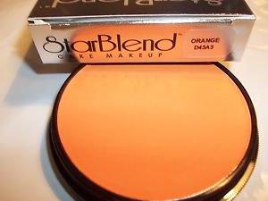 Mehron Orange Star Blend Cake Pancake Water Base Stage Makeup  Professional