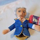 Alexander Hamilton  Unemployed Philosophers Plush Finger Puppet  Magnetic