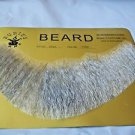 Beard Human Hair Full Beard Light Grey Net Professional Theater Rubies 2024