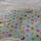 Spring Towels Kitchen Easter Bunnys Flowers Three Towels Polyester