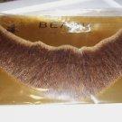 Beard Human Hair Full Beard Dark Grey Net Back Professional Theater Rubies 2024