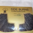 Side Burns Human Hair  Black  Professional Theatrical Rubies 2019