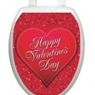 Toilet Tattoos Toilet Seat Decor Happy Valentines Vinyl Reusable Free Shipping