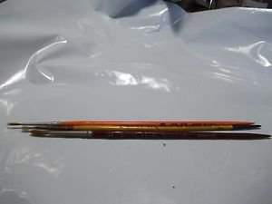 Artist Paint Brushes Vintage Well Kept by Artist