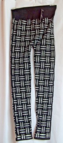 Leggings Women Stretchy Print Leggings Black Patterned One Size