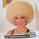 Super Afro Wig  Large  Deluxe Size Blonde  60's 70's 80's Adult Character