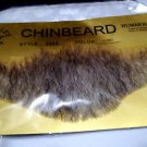 "Chin Beard Human Hair Dark Grey 6 ""Lace Net Backing Professional Theatrical 2023"