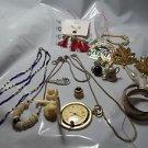 Jewelry Lot Watch Neckaces Left Overs