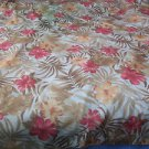 "Thanksgiving Tablecloth Fall Colors 54"" x 80""  Print"
