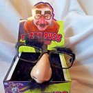 Party Favors Joke Fuzzy Puss Glasses Mustache Nose and Eyebrows Lot of 12
