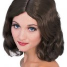 Wig Flowing Brown Biblical Medevial Modern Deluxe Quality Washable