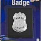 Super Police Badge With Fake Wallet Police Costume Badge FREE  SHIPPING