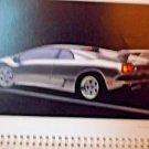VTG Advertising Calendar Exotic Sports Cars 2002