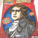 Thomas Jefferson Forum  John Adams Colonial Heroes Costume Kit  Wig Jabot