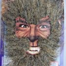Werewolf Instant Easy On Costume Face Brown Free Shipping