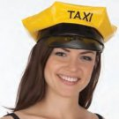 Taxi Hat Driver Yellow Black  Embroidered Designated Driver Jacobson