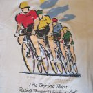 Bicycle Racing Short Sleeve Tee Shirt Delrina XL 100% Cotton M Lipman Canada