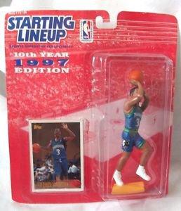 Starting Lineup Basketball Stephon Marbury Timberwolves 10th Year 1997 Edition