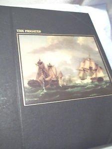 VTG Navy Vintage Book The Frigates Heroes  Mediterranean Britannic Majesty