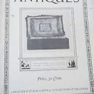 Magazine ANTIQUES  May 1923 Photographs