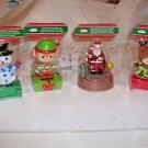 Solar Christmas  Dancing  Decorations Santa Elf Snowman Reindeer