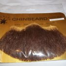 Beard Chin Human Hair Theatrical Professional Rubies #2022 Med Brn Lt Grey