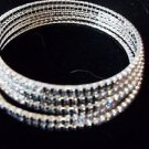 Rhinestone Bracelet Wire Fits All Black and White Rhinestones