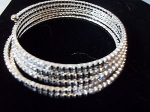 Rhinestone Bracelet Wire Fits All Black and White Rhinestones