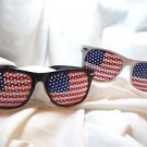 American Party Eyeglasses Glasses  Patriotic I See You You Can't See Me  Plastic