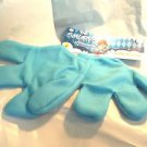 Elf  Gloves Mittens Blue Smurf Gnome Elf  Costume Adult Size