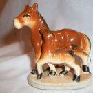 Pony and Colt Figurine Japan Porcelain