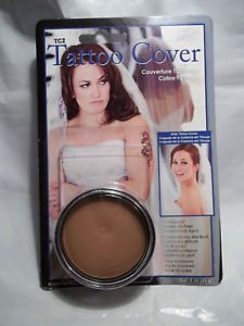 Mehron Tattoo Cover TC 3  Medium Professional Makeup Flaw Concealer  NEW