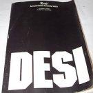 Program DESI Design Graphics 1979 Graphics: USA Photos  Grumman Display