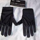 Children's Black Gloves Stretch Polyester Comfort Dressy