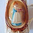 Sears Roebuck & Co. 1978 Collectible Mug Colonial Gingham Woman