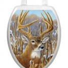 Toilet Tattoos Deer Toilet Seat Decor  Crowning Glory Stag  Vinyl Ships Free