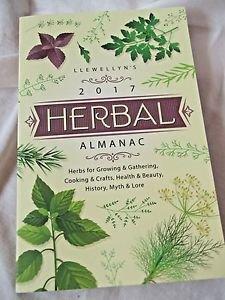 Astrology 2017 Herbal Almanac Llewellyn's Cooking & Crafts Heath & Beauty