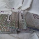 Boxes Gift Jewelry 6 Boxes Silver  3 Sizes Cotton Inside