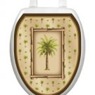Toilet Tattoos Toilet Lid Decor Vinyl Reusable Bahamas Breeze 1020