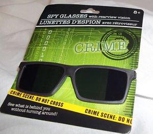 Spy Glasses See Behind You Black Rearview Vision Play