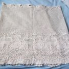 Lace Curtains Ivory  Duck Theme Cafe Valance 50x12  and Bottom 88