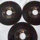 Vintage 45 RPM Records RCA VICTOR Lou Monte - Teddi King- Eddie Heywood
