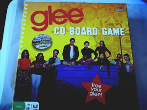 Glee CD Board Game Family 13+ Complete Game Glee