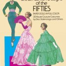 Costume Fashion Paper Dolls Great Fashion The Fifties Paper Dolls in Full Color